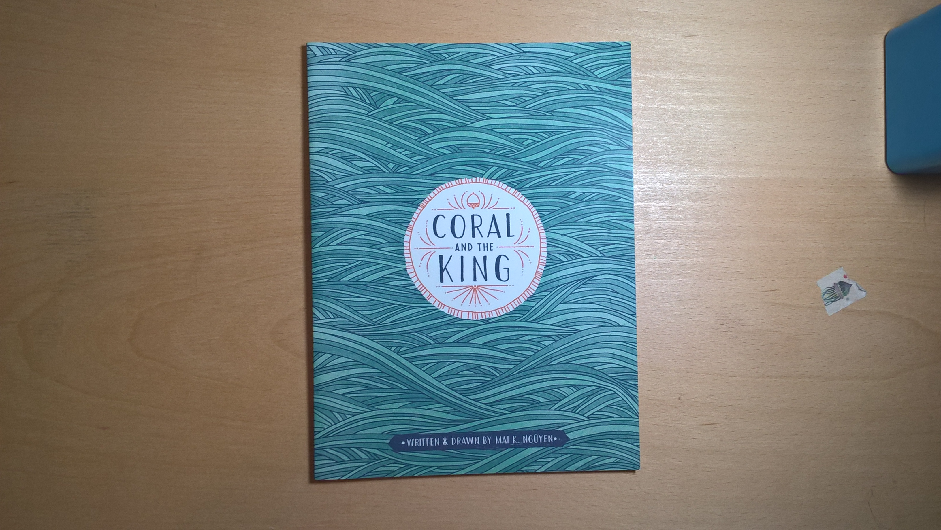 Front of the Coral and the King Zine by Mai K. Nguyen.