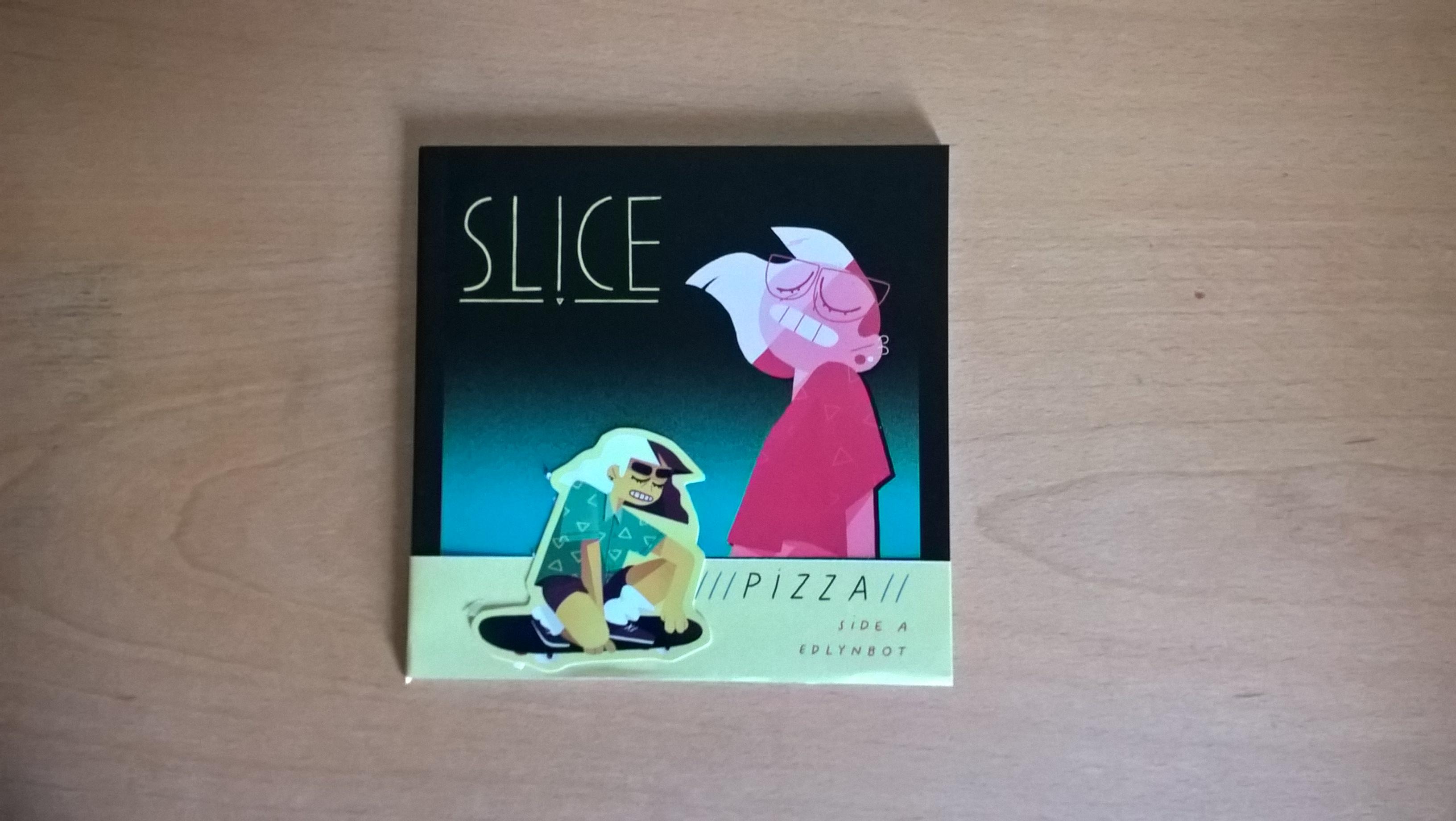 Slice Zine Side A Pizza