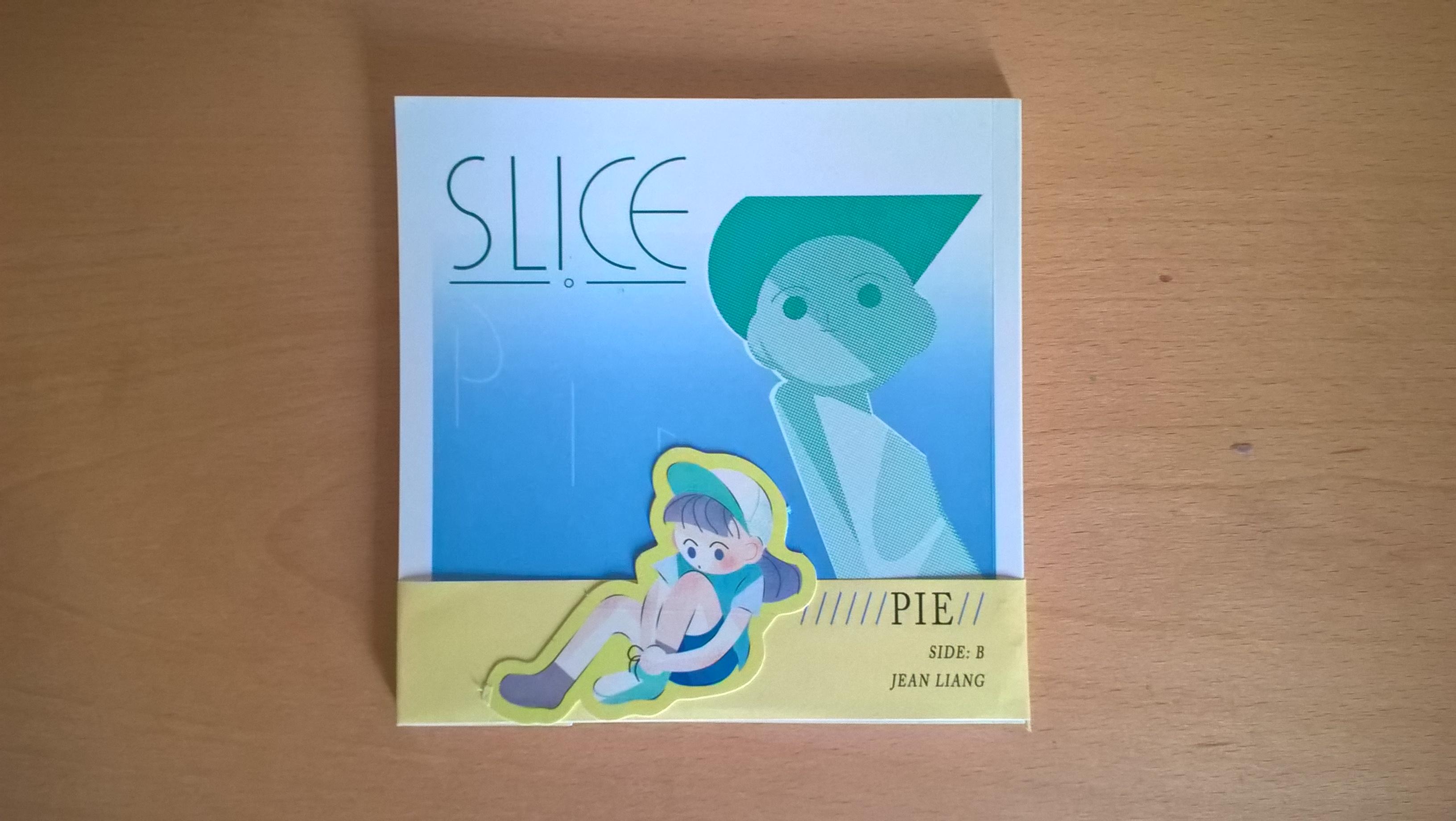 Slice Zine Side B Pie
