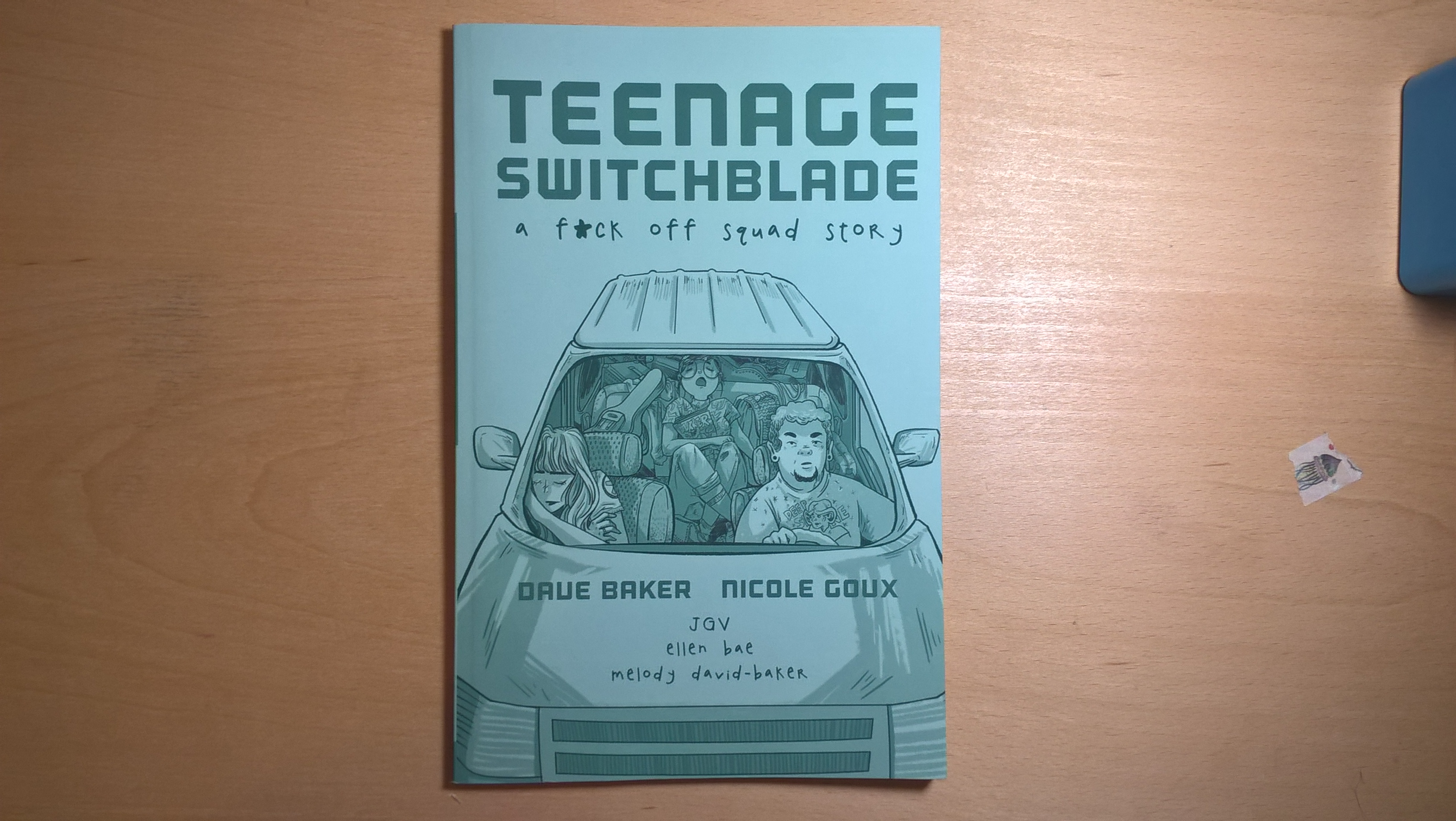 Teenage Switchblade Comic Front
